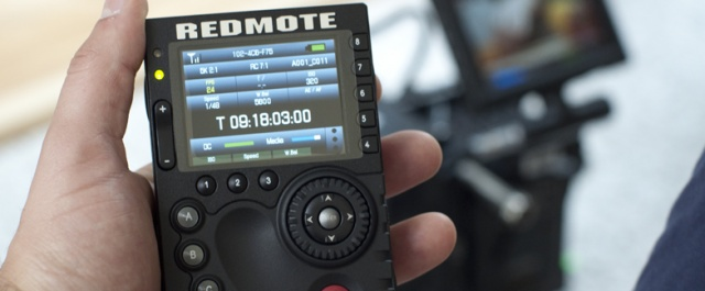 RED Epic-M with REDmote!