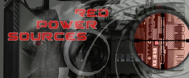 Red Scarlet power solutions: RedVolts or V-Mount?